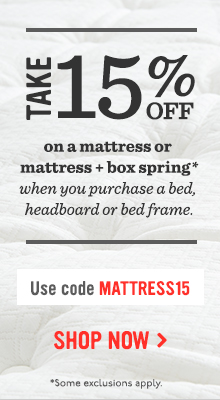 Take 15% Off On A Mattress Or Mattress + Box Spring - Use Code MATTRESS15