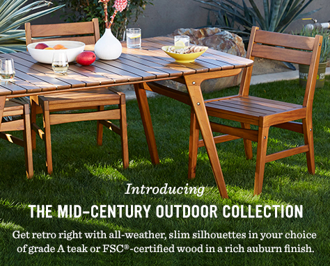 Introducing The Mid-Century Outdoor Collection