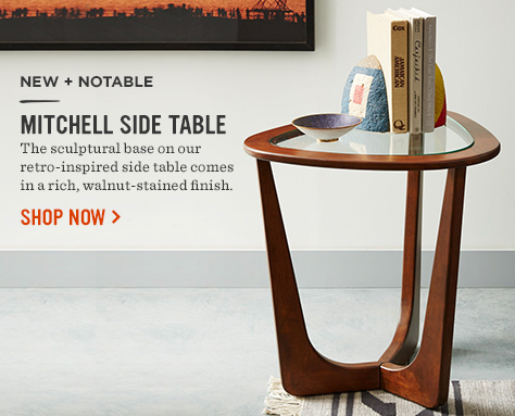 New + Notable! Mitchell Side Table