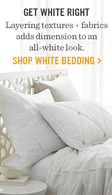 Get White Right - Shop White Bedding