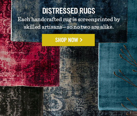Distressed Rugs - Shop Now