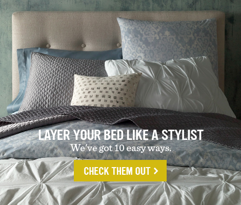 Layer Your Bed Like A Stylist - We've got 10 easy ways.