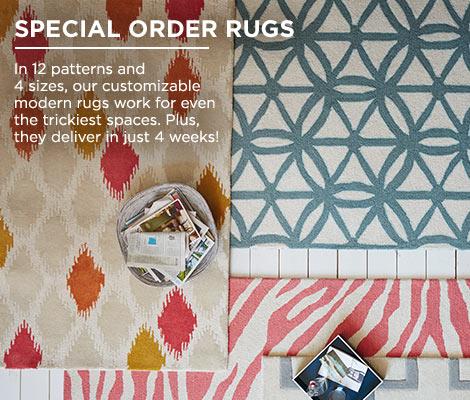 Special Order Rugs And Custom Rugs West Elm