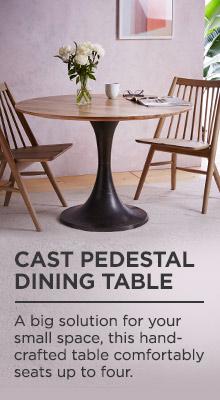 Cast Pedestal Dining Table