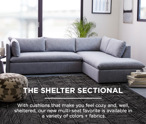 The Shelter Sectional