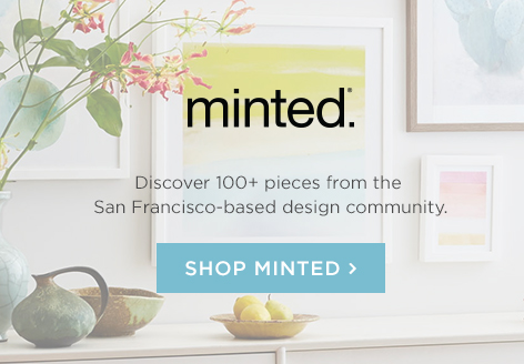 Minted - Discover 100+ pieces from the San Francisco-based design community.