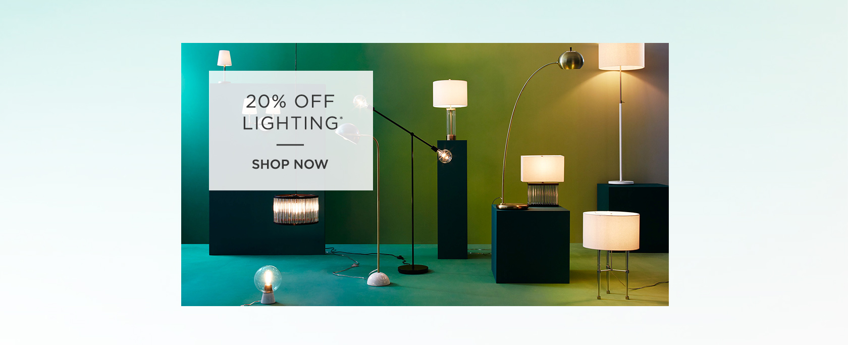 20 Percent Off Lighting