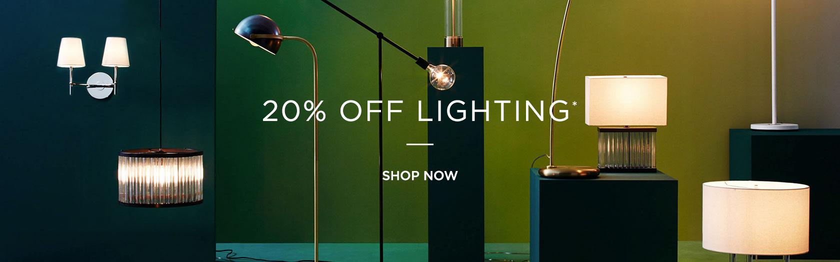 20 Percent Off Lighting