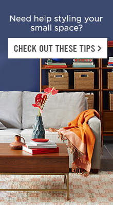 Need Help Styling Your Small Space? Check Out These Tips