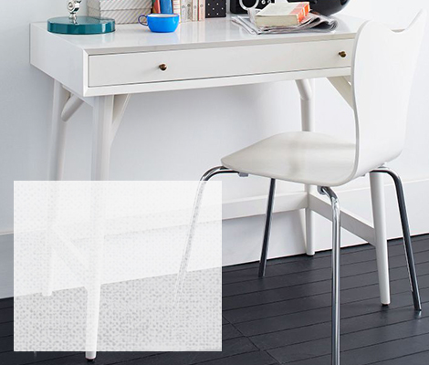 Small home office desk for small space solutions west elm for Small space office solutions