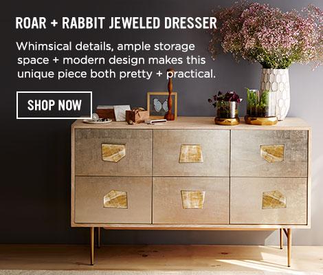 Roar + Rabbit Jeweled Dresser