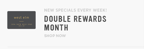Double Rewards Month! New Specials Every Week