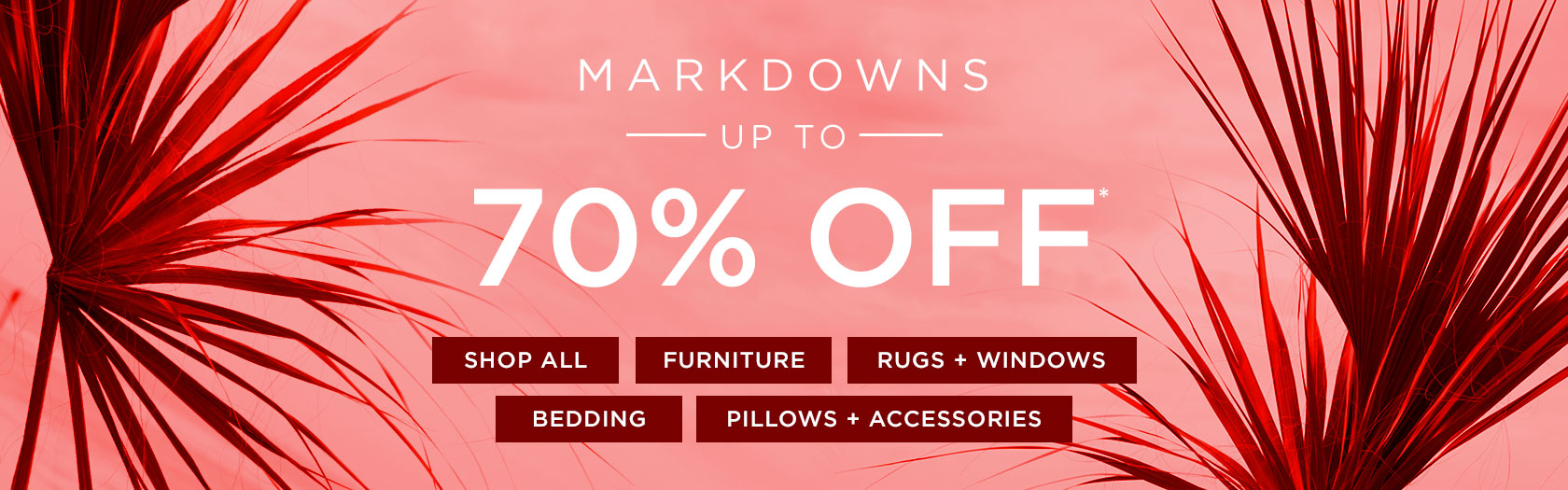 Markdowns Up To 70 Percent Off