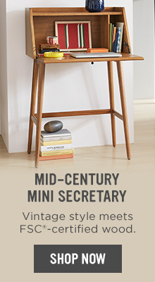 Mid-Century Mini Secretary