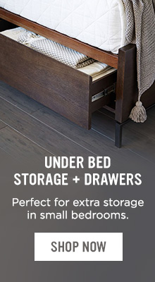 Under Bed Storage + Drawers