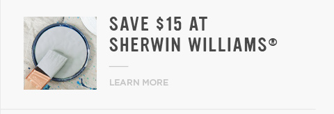 Save $15 At Sherwin Williams