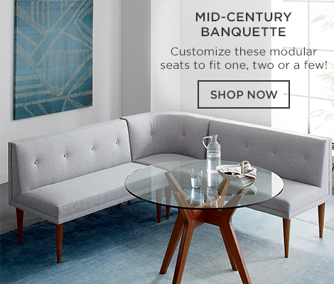 Mid-Century Banquette