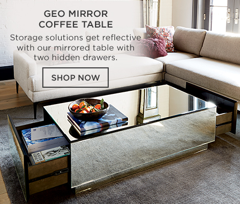 Geo Mirror Coffee Table