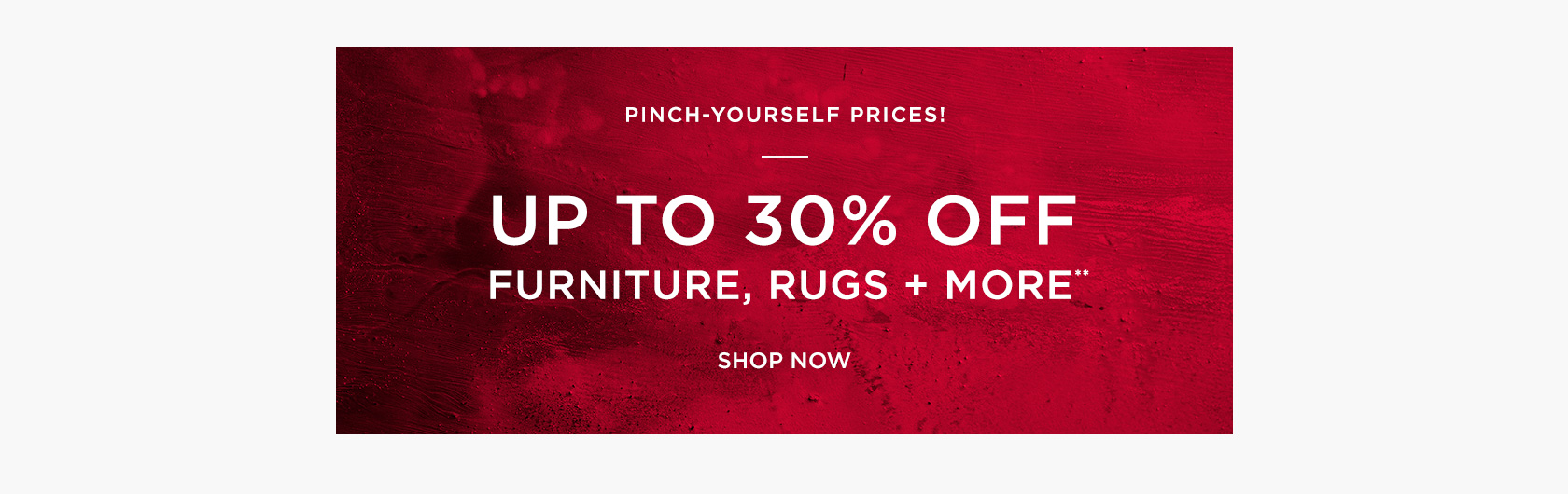 Up To 30 Percent Off Furniture, Rugs + More
