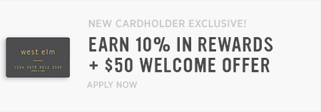New Cardholder Exclusive! Earm 10% In Rewards + $50 Welcome Offer