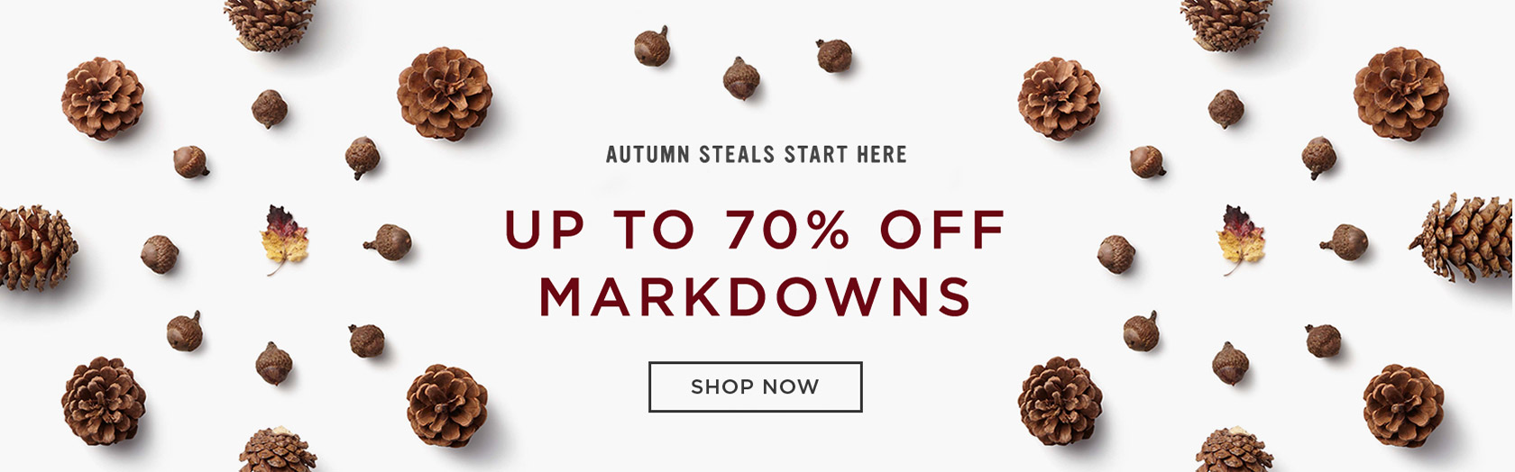 Up To 70% Off Markdowns