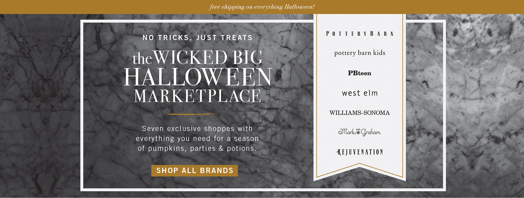 The Wicked Big Halloween Marketplace!