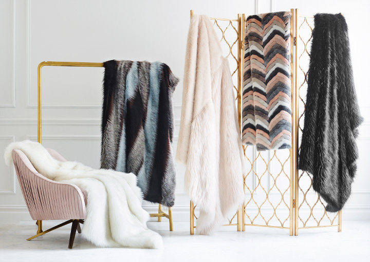 Fur Gifts + Throws