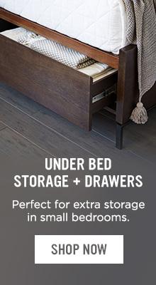 Under Bed Storage + Drawers