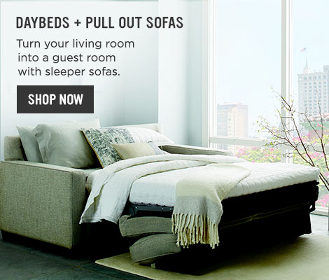 Daybeds + Pull Out Sofas