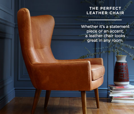The Perfect Leather Chair