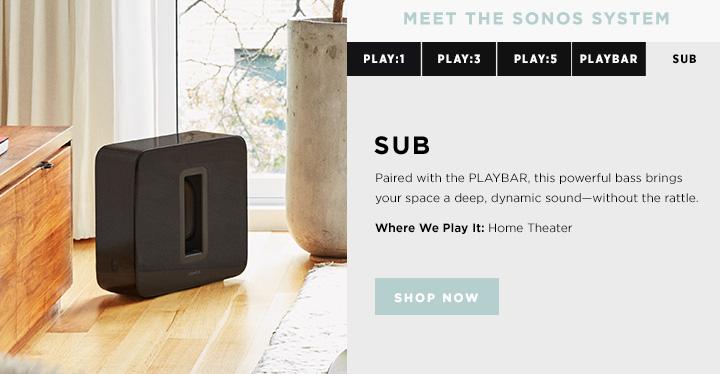 Shop Sonos SUB Wireless Subwoofer