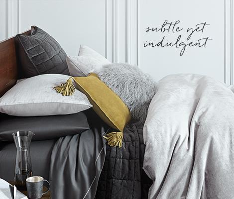Washed Luster Velvet Bedding - Subtle Yet Indulgent