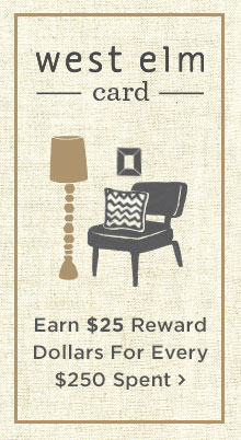 Earn $25 Reward Dollars For Every $250 Spent