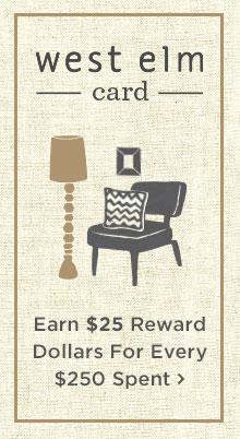 Earn $25 Reward Dollars For Every $250 Spent