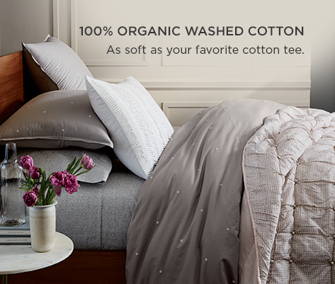 100% Organic Washed Cotton