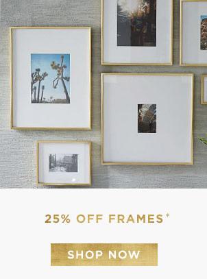 25% Off Frames