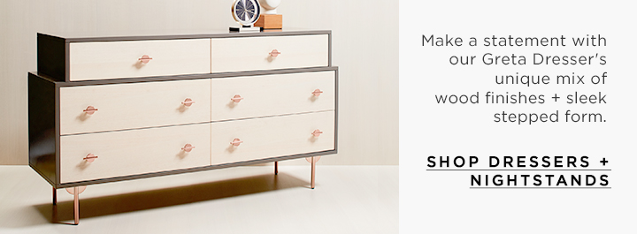 Shop Dressers + Nightstands
