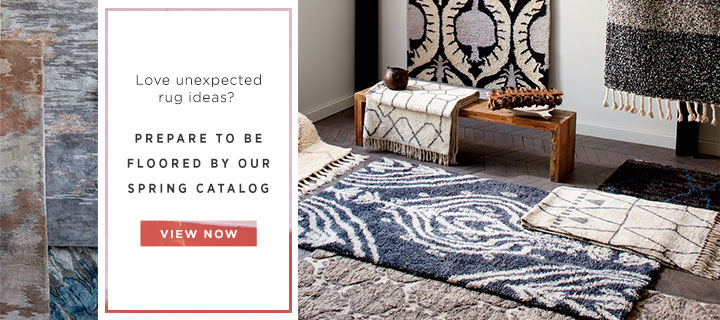 Love unexpected rug ideas? View The Catalog
