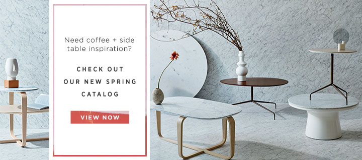 Need Coffee + Side Table Inspiration? View The Catalog