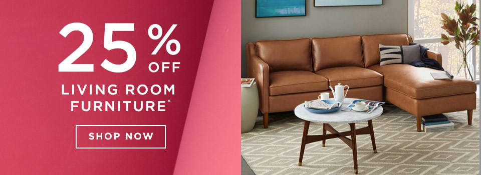 25% Off Living Room Furniture