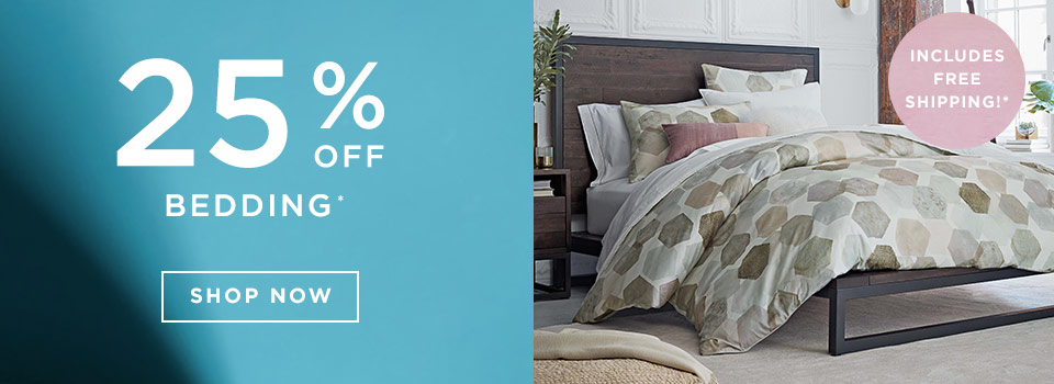 25% Off Bedding