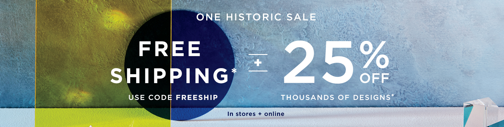 Free Shipping with code FREESHIP + 25% Off Thousands Of Designs