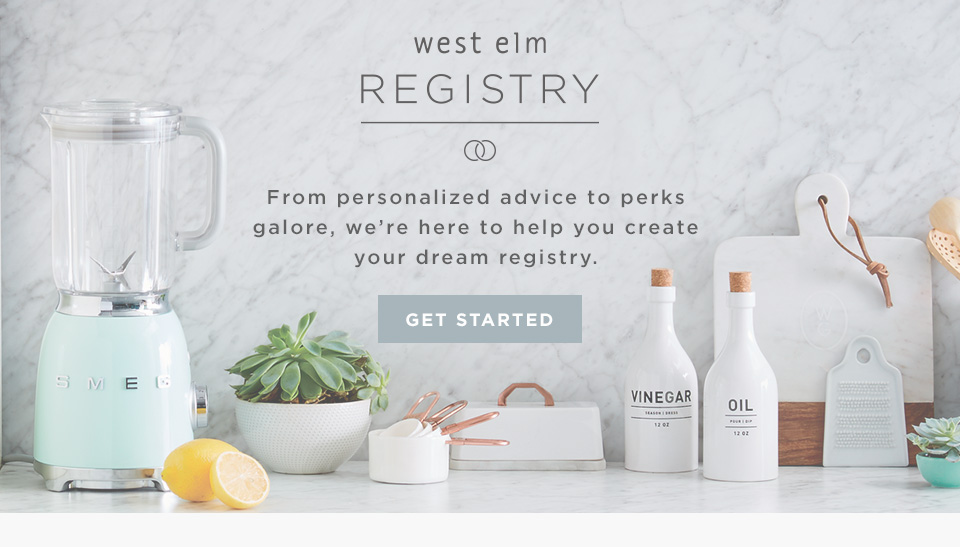 West Elm Registry