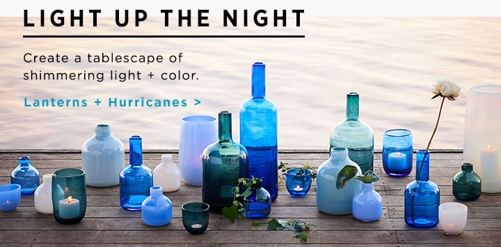 Lanterns + Hurricanes