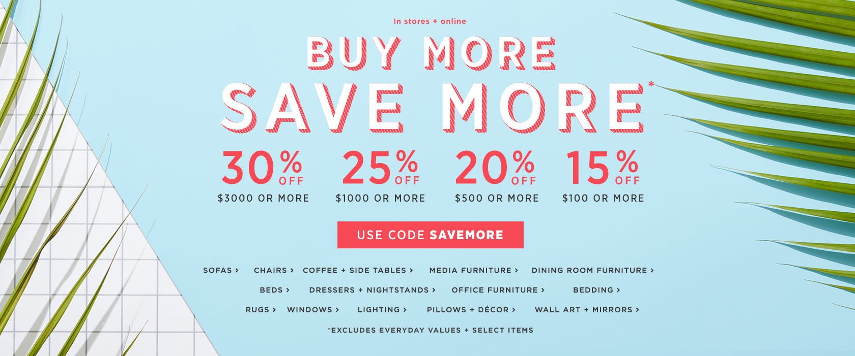 Buy More Save More! Use Code SAVEMORE