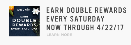 Earn Double Rewards Every Saturday Now Through 4/22/2017