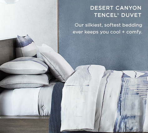 Dessert Canyon Tencel Duvet - Our Silkiest, Softest Bedding Ever Keeps You Cool + Comfy