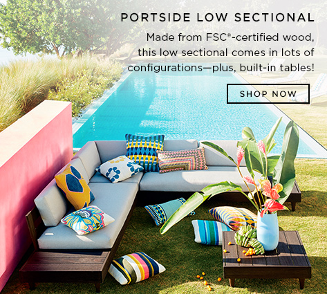 Portside Low Sectional