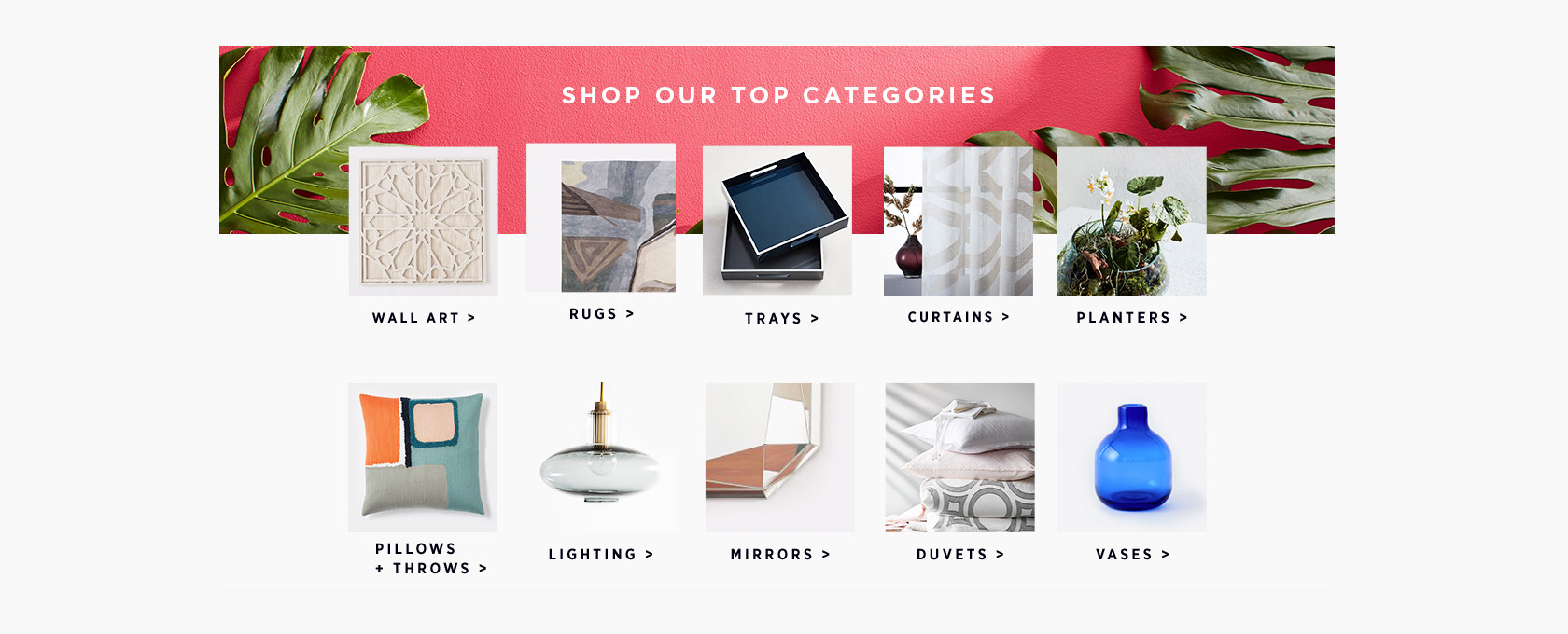 Shop Our Top Categories
