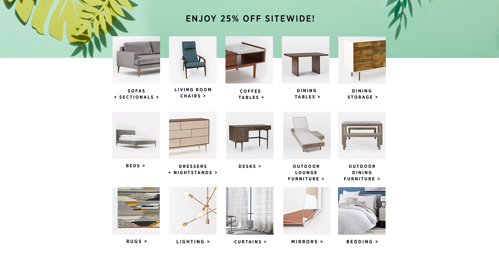 25% Off Sitewide With Code SALE25
